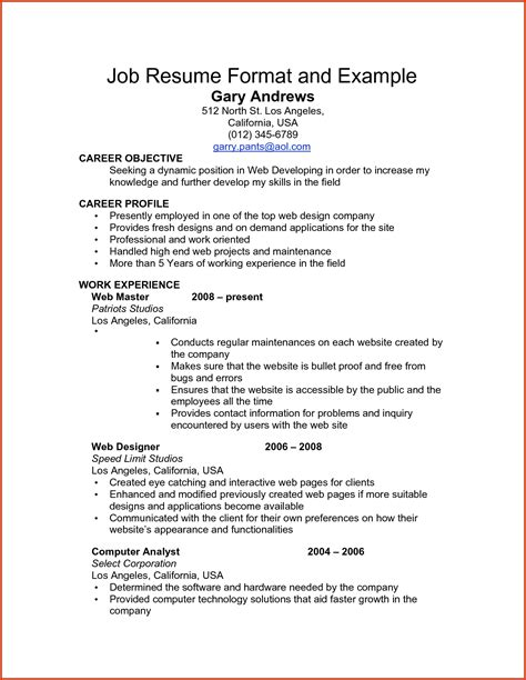 work resume samples examples of resumes resume templates little work