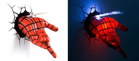 3d superhero wall light the best night lights for your
