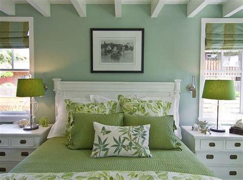 green bedroom decor decoist
