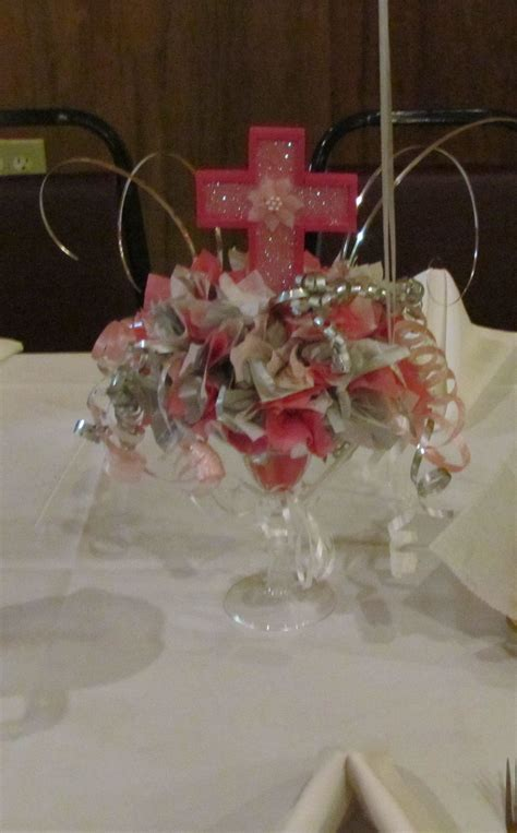 Baptism Centerpiece Things Ive Made Pinterest