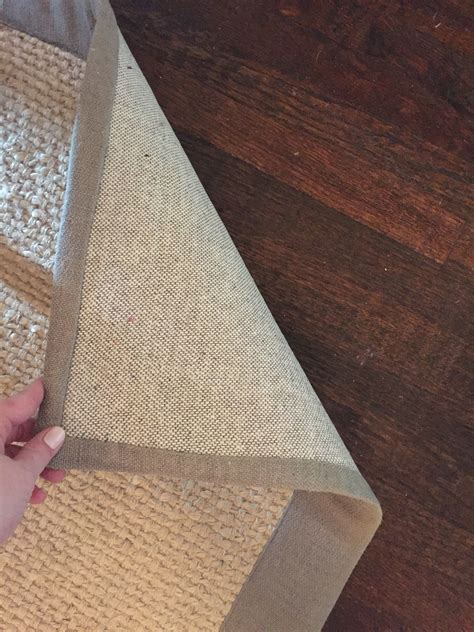 Pottery Barn Wool And Jute Rug