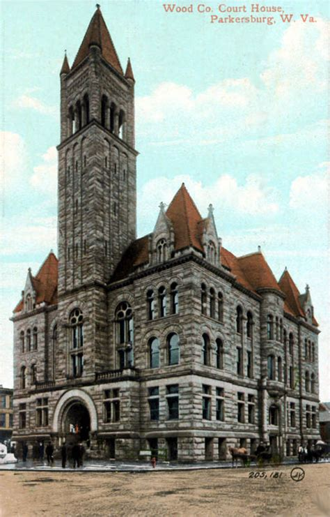 parkersburg west virginia wood county courthouses