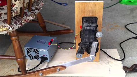 Electric Chair Prop by Animated Rocking Chair Youtube