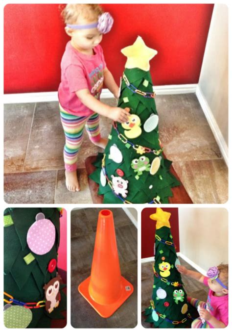 felt christmas tree for toddlers sohosonnet creative living