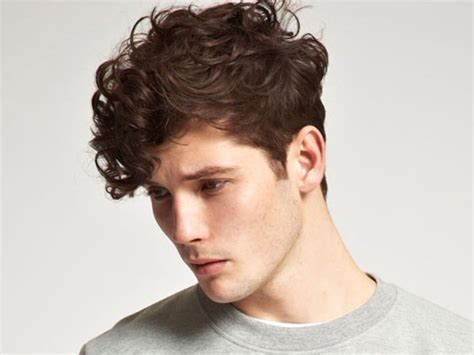 Latest Curly Hairstyle for Men   HairJos.com