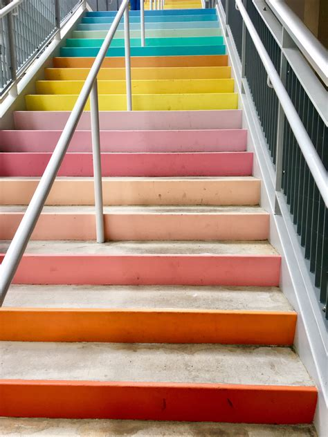 sugarandclothcolorwall returns to houston with rainbow stairs it s not hou it s me