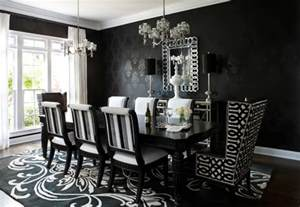 10 ways to achieve a inspired home freshome - Black And White Dining Room Ideas
