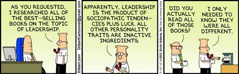 leadership dilbert books leader difference