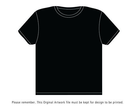 Black Shirt Template Black T Shirt Template Shatterlion Info