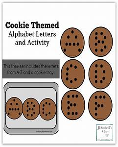 cookie themed alphabet letters and activity jdaniel4s mom With cookie letters game