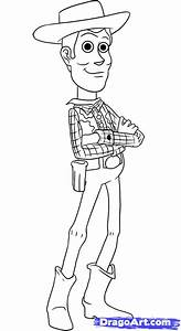 Step 7. How to Draw Woody from Toy Story