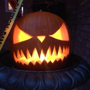 Scary Faces For Pumpkin Carving by Halloween Scary Carved Pumpkin Face Halloween Pinterest