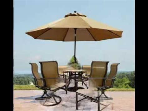 patio table umbrella design ideas