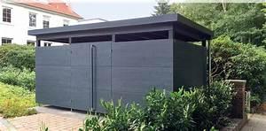 Tonne Aus Holz : m lltonneneinhausung m lltonnenhaus gartana ~ Watch28wear.com Haus und Dekorationen