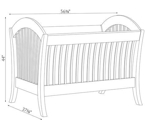 standard crib size manhattan convertible crib amish traditions wv