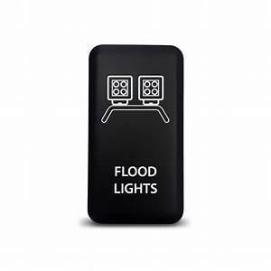 Ch toyota push switch flood lights symbol