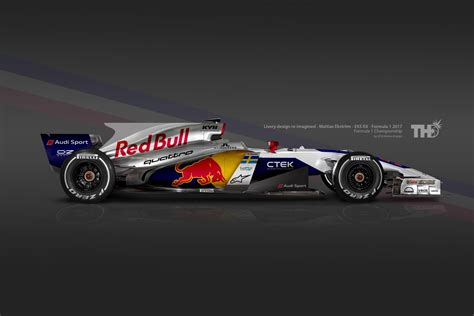 Formula One Giving The Grid A New Paint Job  Red Bull