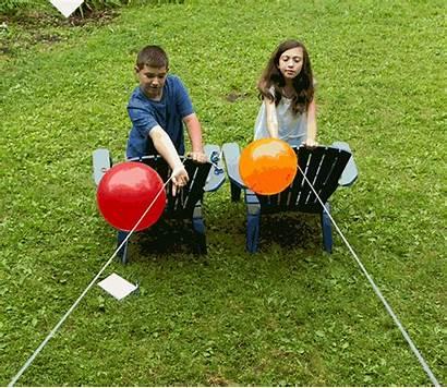 Balloons Rocket Racing Science Try Balloon Straws