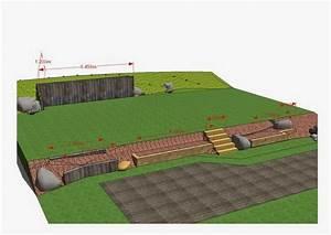 Plantation d39un amenagement en pente paysagiste val d for Amenager jardin en pente 8 comment fabriquer un poulailler en bois pour le jardin