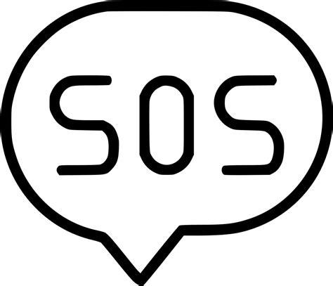 Sos Svg Png Icon Free Download (#573640) - OnlineWebFonts.COM