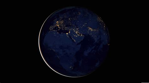 Black Marble Africa Europe And The Middle East Uhd 8k