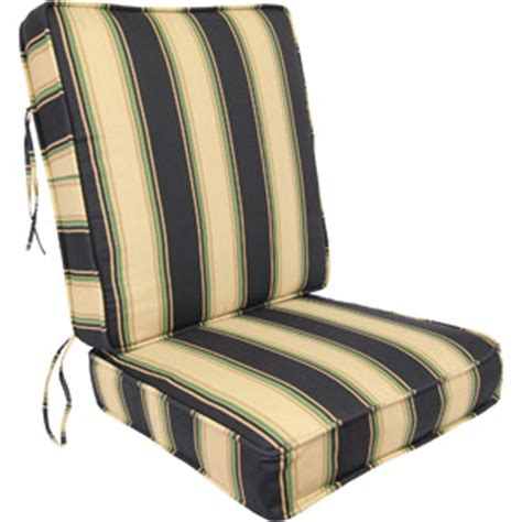 Patio Seat Cushions Walmart by Manufacturing Stripe Outdoor Seating Cushion