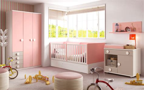 chambre bébé fille moderne chambre bébé fille avec un lit jumeaux évolutif glicerio