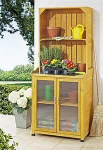 gartenschrank mit regalaufsatz pflanztische und With französischer balkon mit garten aufbewahrung