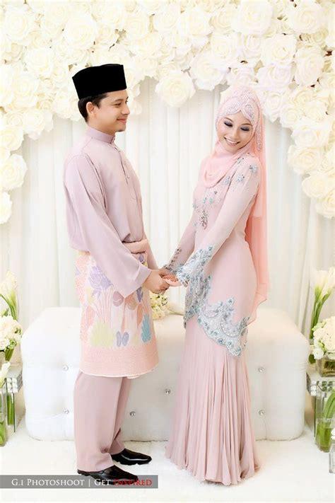 tampil cantik  model baju pengantin muslim terbaru