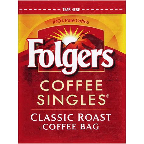 Some canisters hold up to 31.1. Folgers Coffee Singles Classic Roast Coffee Bags (114 count) - Buy Online in UAE.   Grocery ...