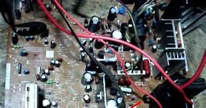 Muaslan Elektronik  Tv Sharp Mati Standby    Gagal Start