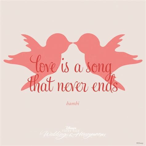 love   song   ends quote bambi disney quotes pinterest disney  day