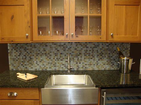 How To Set Stone Mosaic Tile Kitchen Backsplash Kitchen