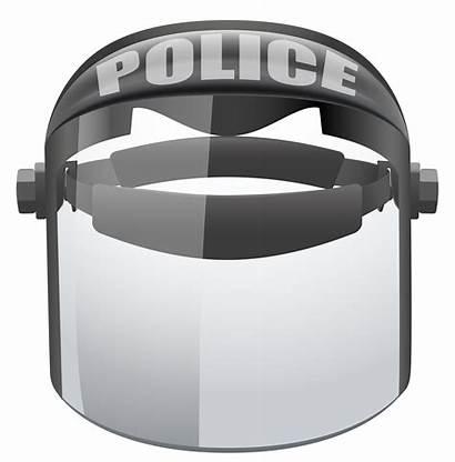 Riot Helmet Police Clipart Clip Mask Welding