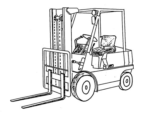 Semi Truck And Trailer Coloring Pages