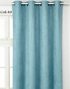 Rideau Jaune Et Bleu : rideau scandinave bleu bricolage maison et d coration ~ Teatrodelosmanantiales.com Idées de Décoration