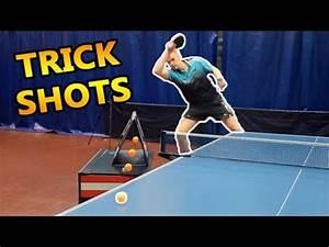 Table Tennis Trick Shots I Pongfinity - YouTube