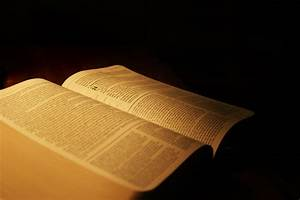 Bible Book on Black Background #4249163, 3504x2336 | All ...