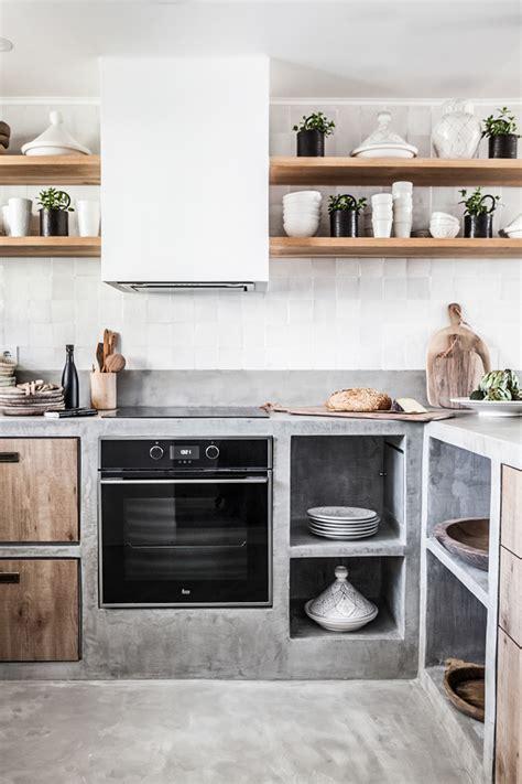 una cocina de obra abierta al salon blog de decoracion