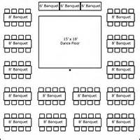 party rentals fort worth tent layouts seating capacity chart aa party and tent