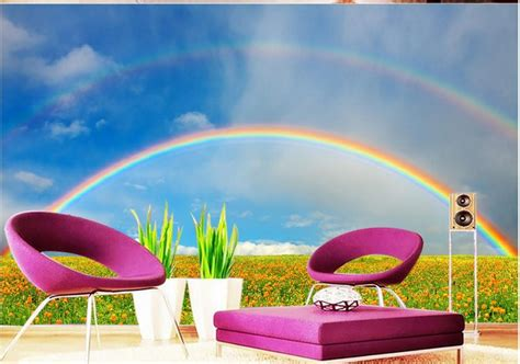room special rainbow wallpaper for room sle