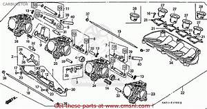 Honda Cbr250rrn Mc22  Japan  Carburetor