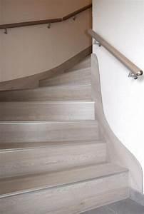 Habillage Escalier Interieur : renovation escalier bois interieur fabulous dcoration ~ Premium-room.com Idées de Décoration