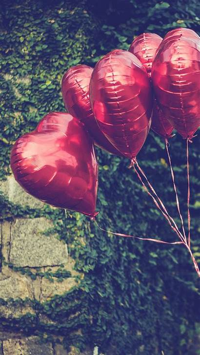 Iphone Balloons Valentines Heart Wallpapers Valentine Happy