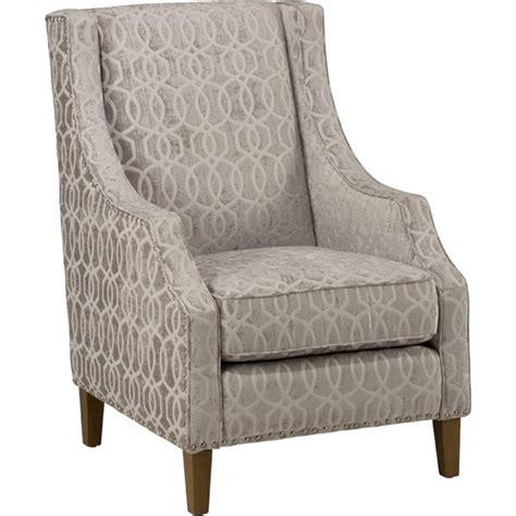 jofran quinn accent chair in dove gray quinn ch dove