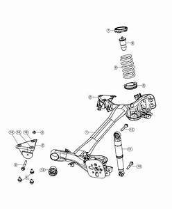 Fiat 500 Shock Absorber  Suspension  Rear   Rear