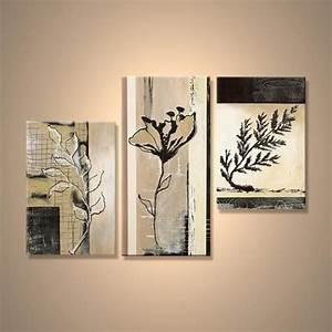 Tableau Plusieurs Panneaux : d coration murale tableaux toiles tableau triptyque d co ~ Teatrodelosmanantiales.com Idées de Décoration