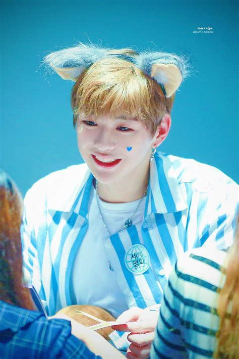 laugh live kang daniel reveals what of makes his