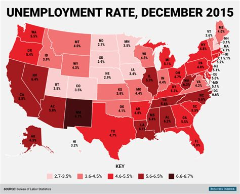 usa statistics bureau here 39 s every us state 39 s unemployment rate