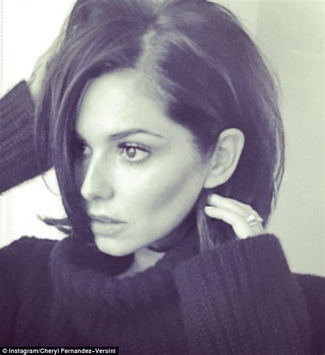 Cheryl Fernandez Versini cuts hair for short Seventies